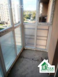 Французское остекление балкона под ключ Вышгород - компания