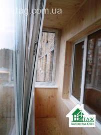 Балкон под ключ Ирпень недорого, с гарантией от компании