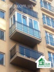 Французский балкон под ключ в Броварах - компания