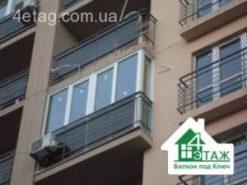 застеклить балкон цена