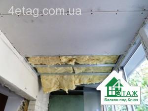Утепление и остекление балкона под ключ Вышгород - балконная компания