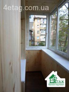Ремонт балкона под ключ в Киеве, фирма