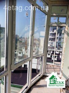 Французский балкон - ремонт балкона под ключ