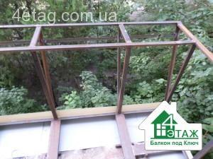 расширение пола балкона киев