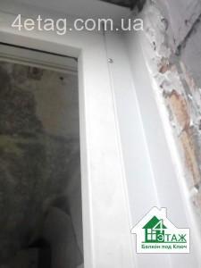 наружные нащельники на балкон или лоджию