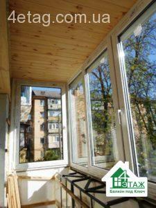 внутреннее утепление балкона в киеве