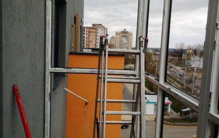 Французский балкон / ЖК Европейка, ул. Соборности 103/8