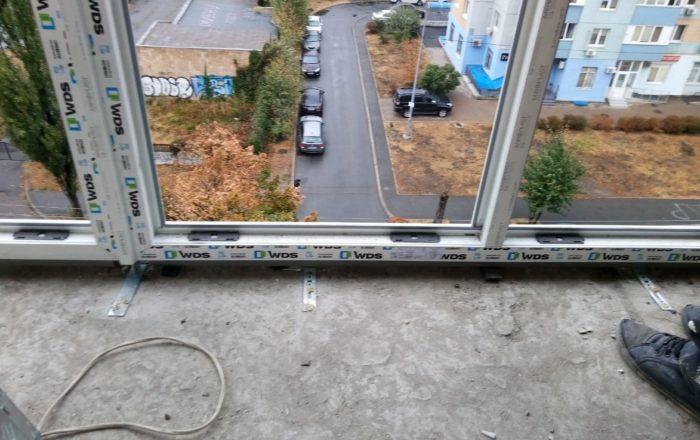 Французский балкон WDS / ул. Краковская